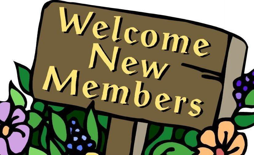 New Members October 2020