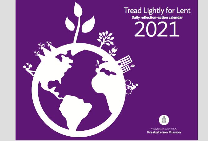 Tread Lightly for Lent 2021