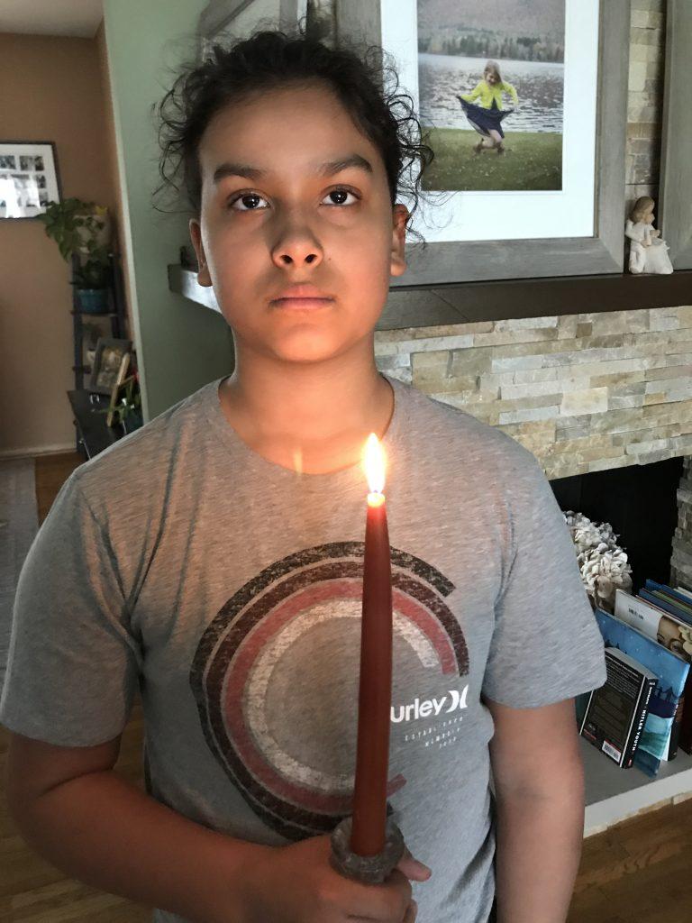 Matthew candle