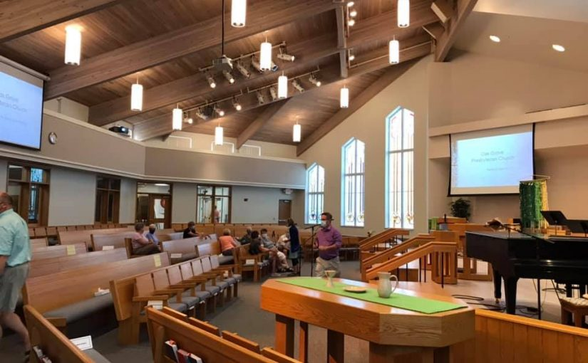 In-Person Worship at Oak Grove